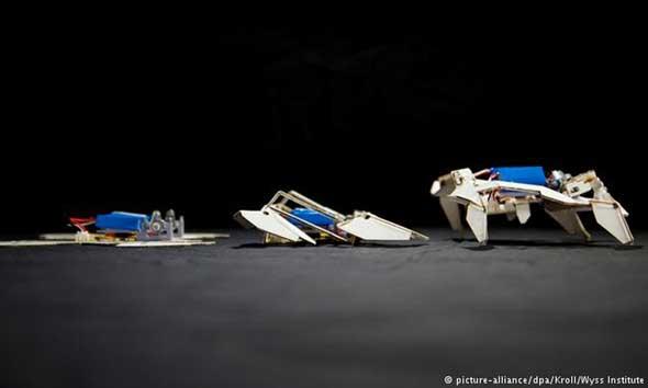 Robot Transformer dari Seni Origami