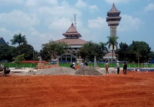Alun-alun Rembang Tak Masuk Penilaian Adipura