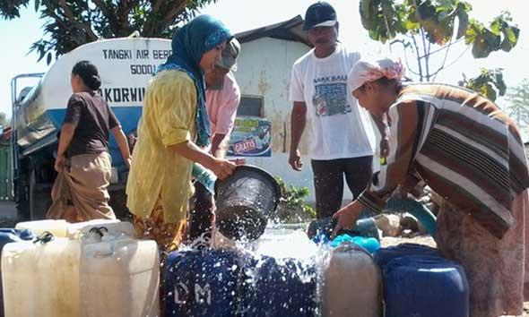 10 Desa di Rembang Mulai Dikaver Bantuan Air