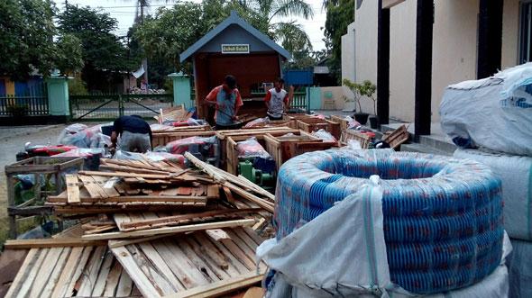 Petani Rembang Dibantu 25 Pompa Air Atasi Kesulitan Irigasi