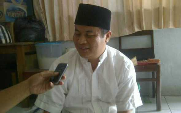 Sumarsono Sugeng, Ketua PC Ansor Rembang. (Foto:Wahyu)