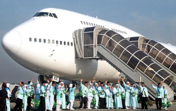 Ilustrasi Jemaah Haji Indonesia. (Foto:gresnews.com)