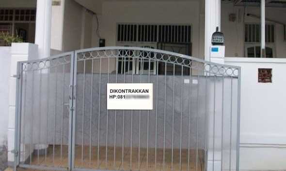 Kontrak Rumah Picu Inflasi September di Rembang