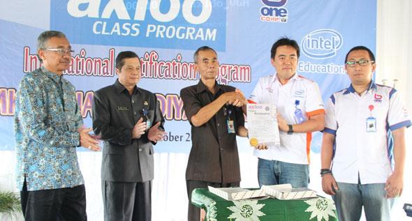 Songsong Pasar Bebas, SMK Muhammadiyah Jalin Kerjasama Dengan Axioo