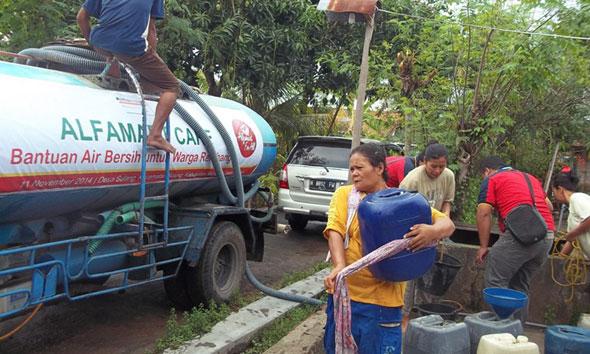 Pemkab Rembang Belum akan Setop Bantuan Air Bersih