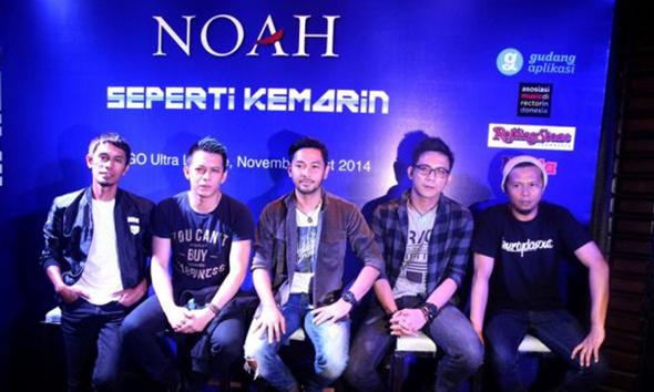 NOAH Berkehendak Tanam Pohon di Seantero Nusantara