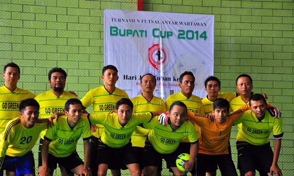 Wartawan Rembang Melaju Ke Semi Final Futsal Jawa Timur