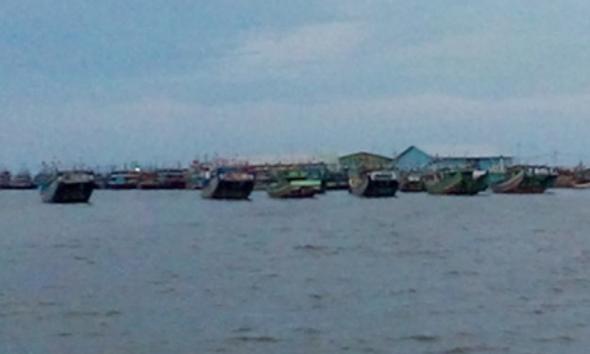 Enam Kapal Rembang Ditangkap di Sampit