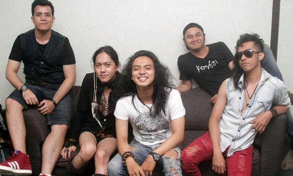 Grup band Krosboi. (Foto:tabloidbintang.com)