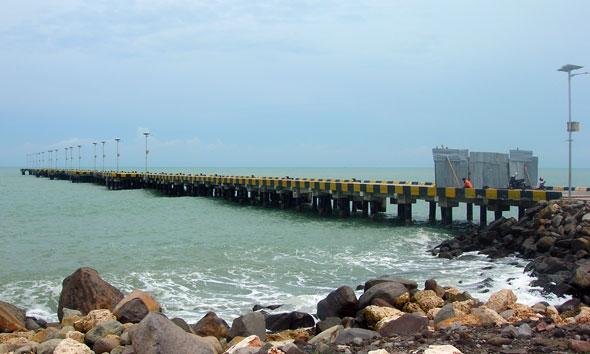 Kawasan Pelabuhan Tanjung Bonang Kabupaten Rembang. (Foto:RiF)
