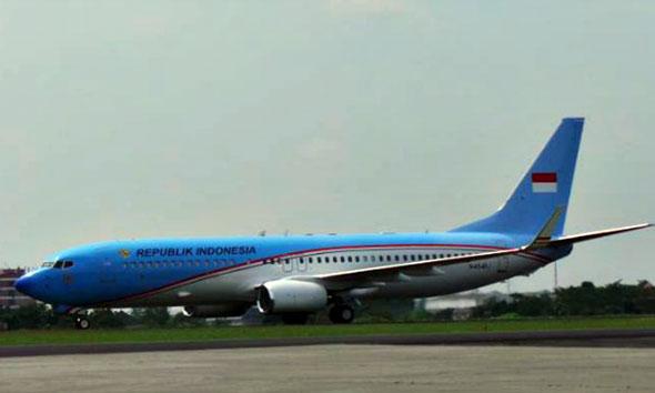 Pesawat kepresidenan pertama Indonesia (Foto:assets.kompas.com)
