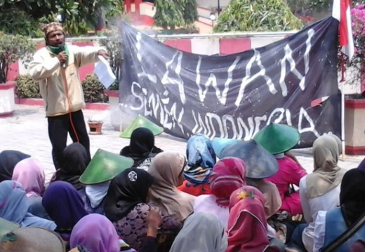 Kader PPP di Massa Penolak Pabrik Semen Minta Hafidz Tak Diam