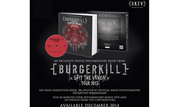Burgerkill 'Spit The Venom Photo Documentary Book & DVD. (Foto:facebook.com/Burgerkill666)