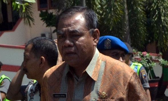 Sekretaris Daerah Kabupaten Rembang Hamzah Fatoni. (Foto:Pujianto)