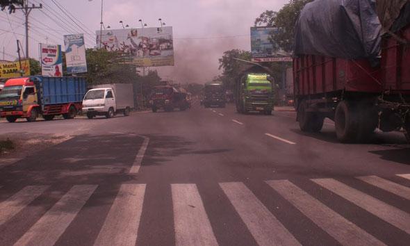 Jalur Tireman-Pamotan akan terpotong Jalan Lingkar Rembang di wilayah Desa Kasreman Kecamatan Rembang. (Foto: Arif Bahtiar)