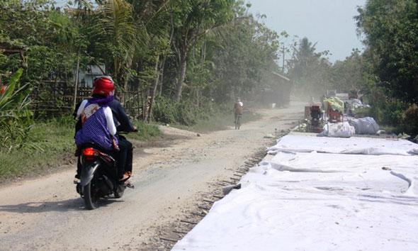 Sistem Drainase Menuju Kali Nganguk Batal Didandani