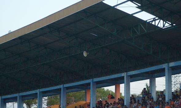 Kerusakan Stadion Krida Rembang Tak Segera Didandani