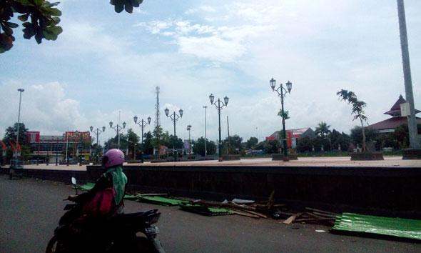 Cegah Vandalisme Alun-Alun, Pemkab Andalkan Satpol PP