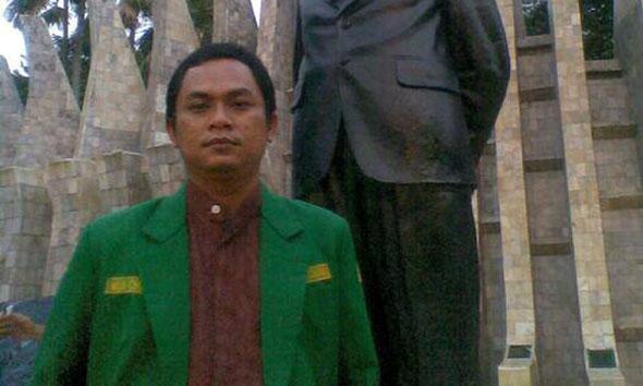 Ketua Fraksi PKB DPRD Rembang Mohammad Imron. (Foto:Pujianto)