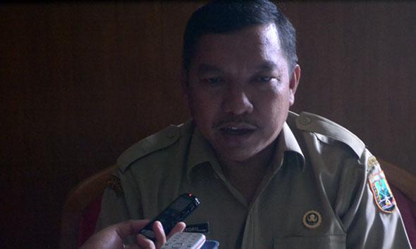 Kepala Dinas Kesehatan Rembang Ali Syofii. (Foto:Pujianto)