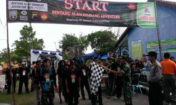 Pecinta Alam Jawa-Bali Susuri Bentang Alam Rembang