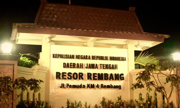 Polres Rembang. (Foto:sitipol-rembang.com)