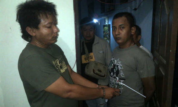 Polisi Ciduk Dua Pengguna Sabu dari Kos-kosan di Lasem