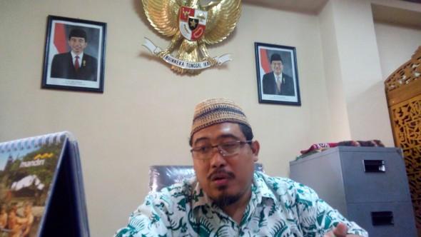 Ketua DPC PPP Rembang Majid Kamil. (Foto: Pujianto)