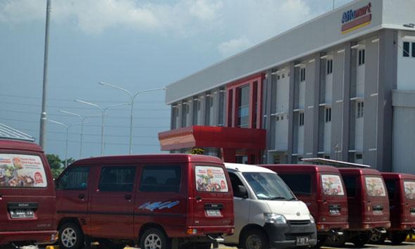 Kantor Alfamart cabang Rembang. (Foto:Pujianto)