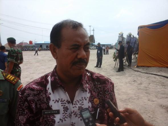 Kepala Dinas Perindagkop dan UMKM Rembang Muntoha. (Foto: Pujianto)