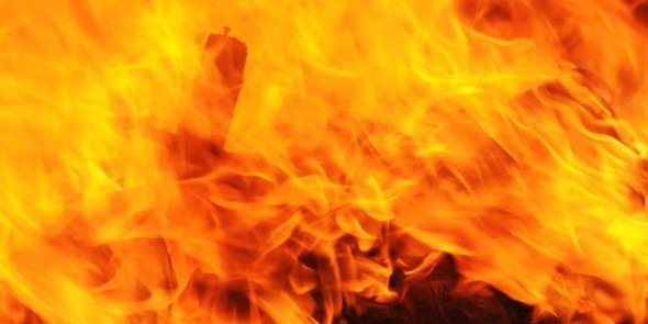 Dapur Dekat Balai Desa Terbakar, Seisi Kampung Berdebar