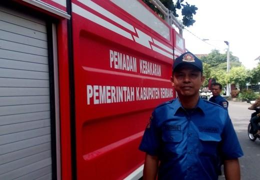 Kebakaran, Kado Ulang Tahun Kesatria Biru Rembang