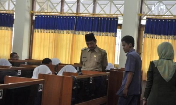 Pilih Kerja, 49 Peserta UNPK di Rembang Absen