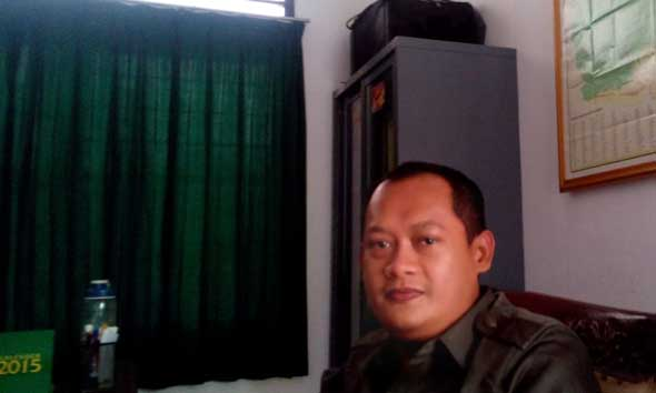Kepala Seksi Pidsus Kejari Rembang Eko Yuristianto. (Foto: Pujianto)