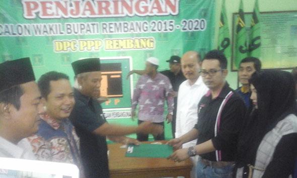 Bakal Calon Wakil Bupati dari Nasdem Mendaftar di PPP