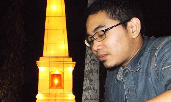 Ketua Pimpinan Cabang Ikatan Pelajar NU (IPNU) Rembang yang baru terpilih Ahmad Humam. (Foto: Facebook.com/ahmaindraki)