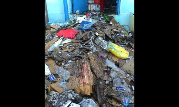 Gudang PT Holi Mina Jaya Sluke Terbakar