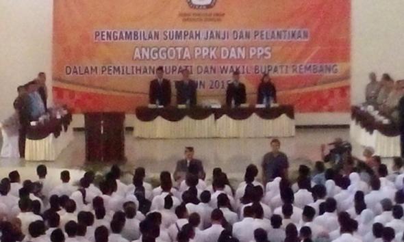 Di Balik Pelantikan PPK dan PPS Pilkada Rembang