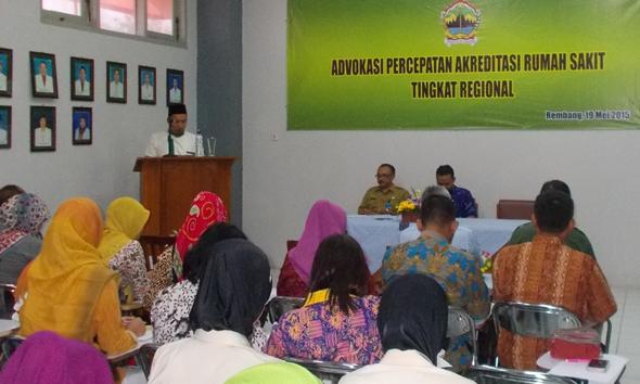 RSUD Rembang Jadi Ajang Studi Banding 5 Kabupaten