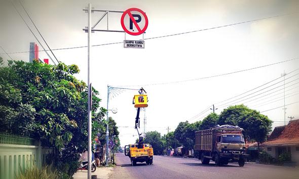 Antisipasi Begal, 106 Lampu Penerangan Jalan Disebar