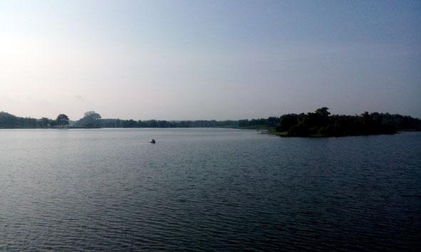 Embung Banyukuwung. (Foto: Pujianto)