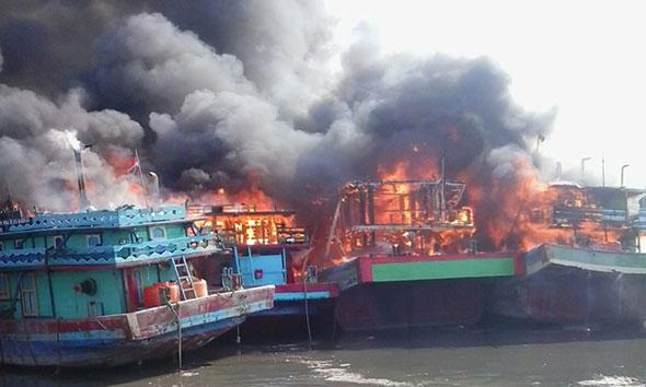 Korban Kapal Terbakar Juwana asal Rembang Dipulangkan
