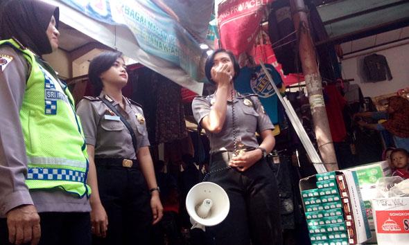 Rawan Copet, Polisi Intensifkan Blusukan Pasar