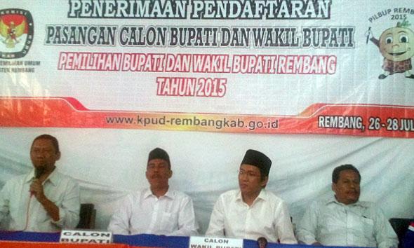 Daftarkan Sunarto-Kuntum, Harno Sebut Demokrat Tak Main-main