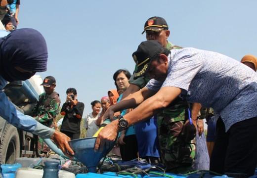 BPBD Tambahi Lagi Persediaan Bantuan Air Bersih