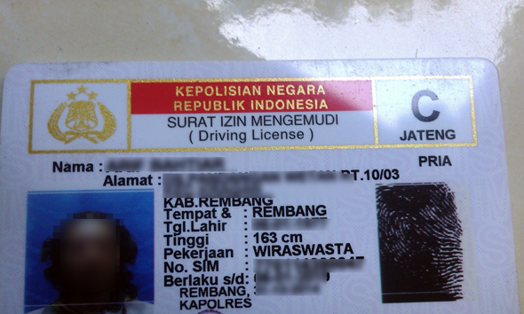 Satlantas Rembang Tegaskan Blangko SIM Sudah Tersedia