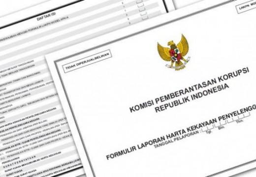 KPK Kirim Laporan Kekayaan Tiga Paslon Pekan Ini
