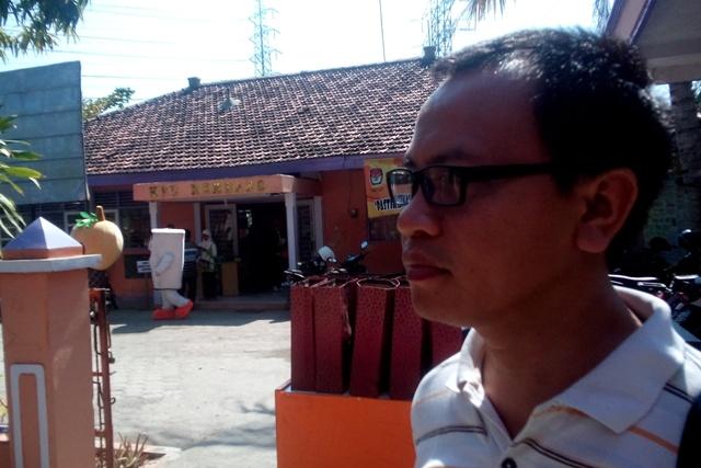 Ketua Panwas Pilkada Rembang Totok Suparyanto. (Foto: Pujianto)