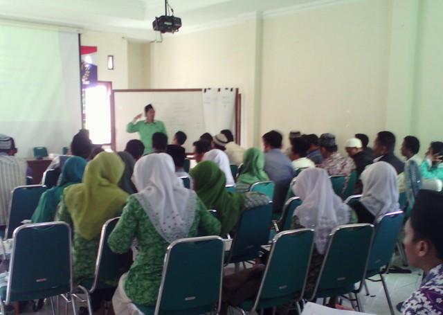 Pelatihan kader PKB di Rembang, Sabtu (5/9/2015) pagi. (Foto: mataairradio.com)