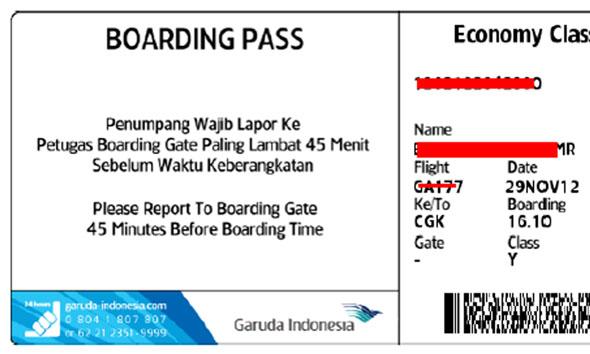 11 Haji Rembang Kehilangan Boarding Pass Kepulangan